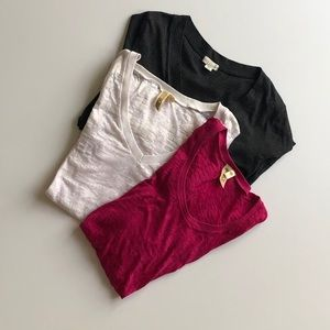 Bundle of 3 Long Sleeve T-shirts